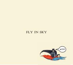 不会飞的不是超人