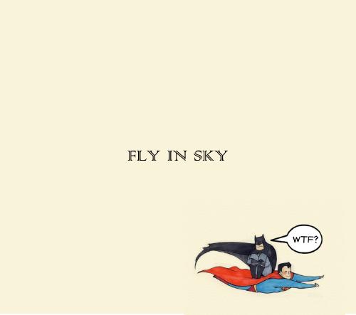 不會飛的不是超人