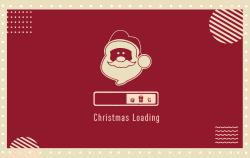 圣诞快乐明信片