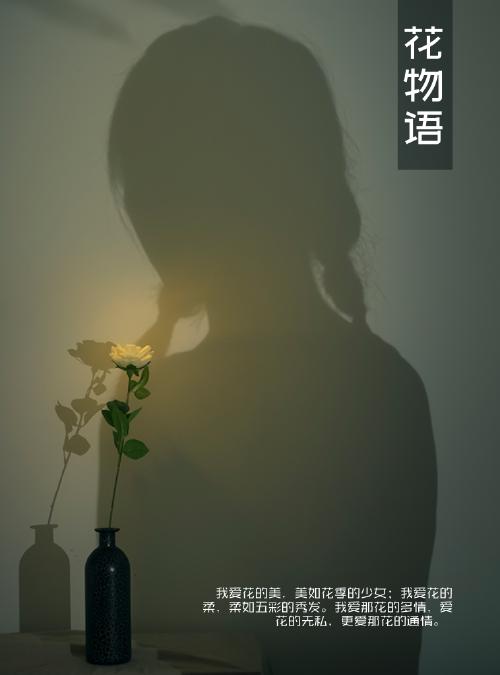 花物語簡潔kindle封面