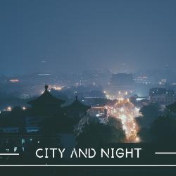 城市与黑夜手机微博封面