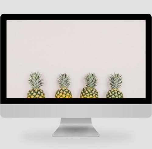 菠蘿頭pc壁紙