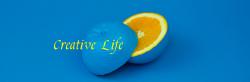 极简蓝色微博封面背景