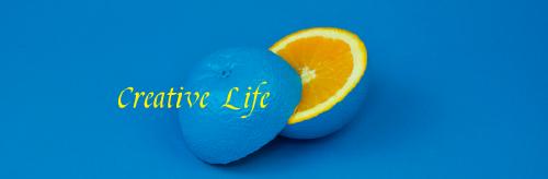 極簡藍色微博封面背景
