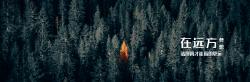 荒野森林微博封面