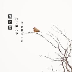 腊八节手机微博封面