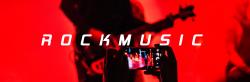 简约红色摇滚音乐微博封面