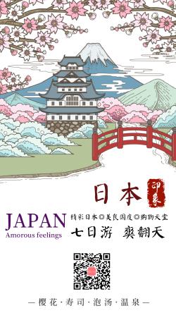 日本旅行海报