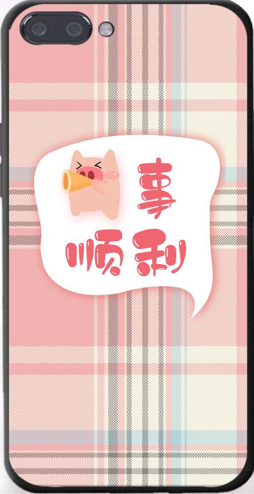 手繪豬事順利iPhone7p/8p手機殼