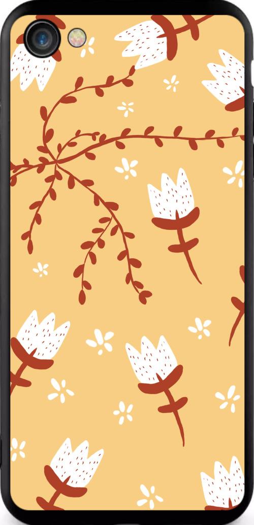 小清新植物手繪iPhone7/8手機殼