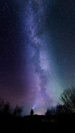 唯美浪漫星空风景摄影手机壁纸