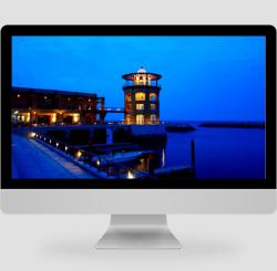 簡約唯美建筑攝影pc桌面