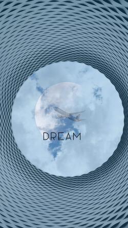 大气创意梦想Dream手机壁纸