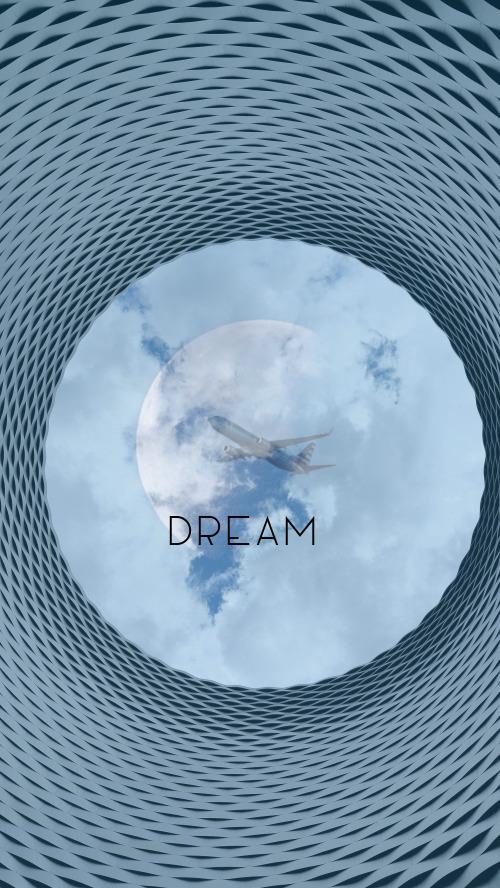 大氣創意夢想Dream手機壁紙