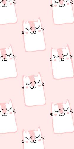 可爱粉色少女手机壳