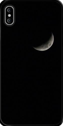 黑色月亮简约iphonex/xs手机壳
