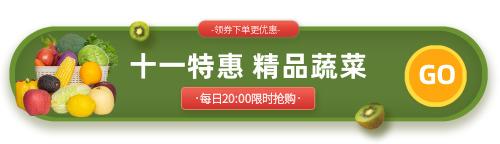 蔬菜水果胶囊banner