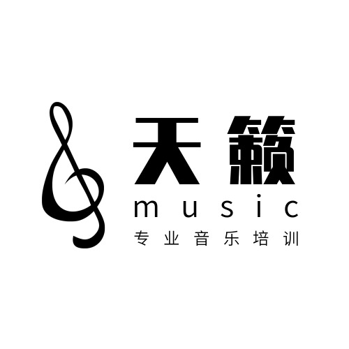 简约音乐培训机构logo设计