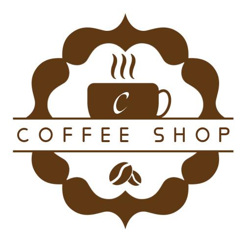 简约咖啡厅logo设计