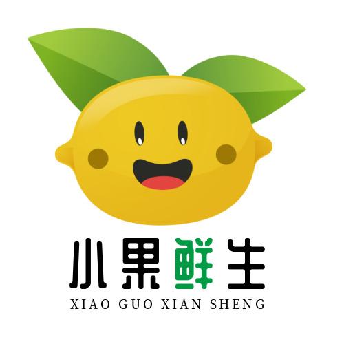 创意小果鲜生水果logo设计