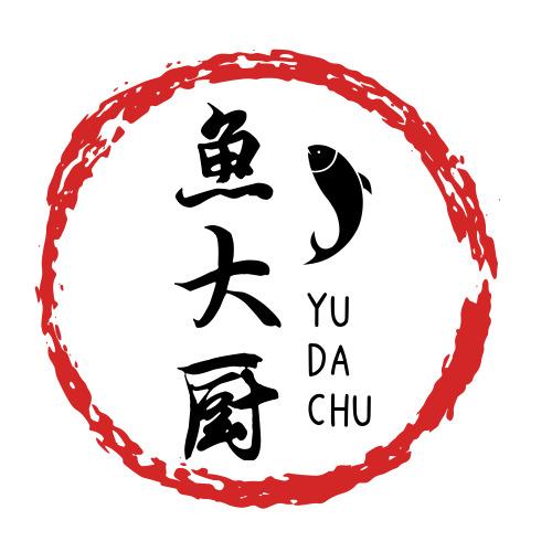 中国风鱼大厨美食logo设计