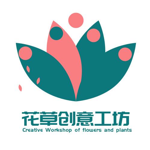 簡約極簡風創意工坊logo設計