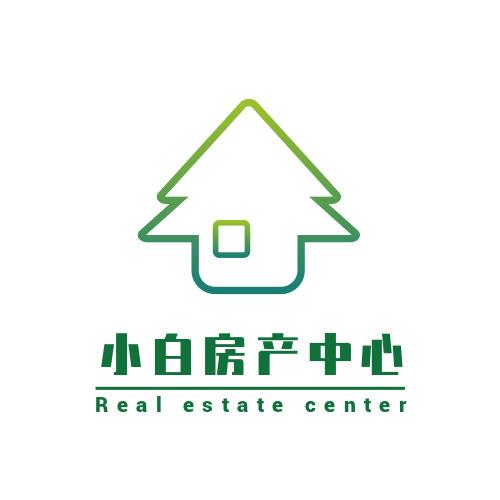 绿色健康房产中心logo设计