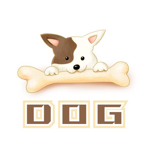 宠物店狗粮logo设计