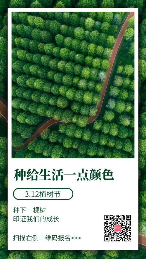 3.12植树节活动海报