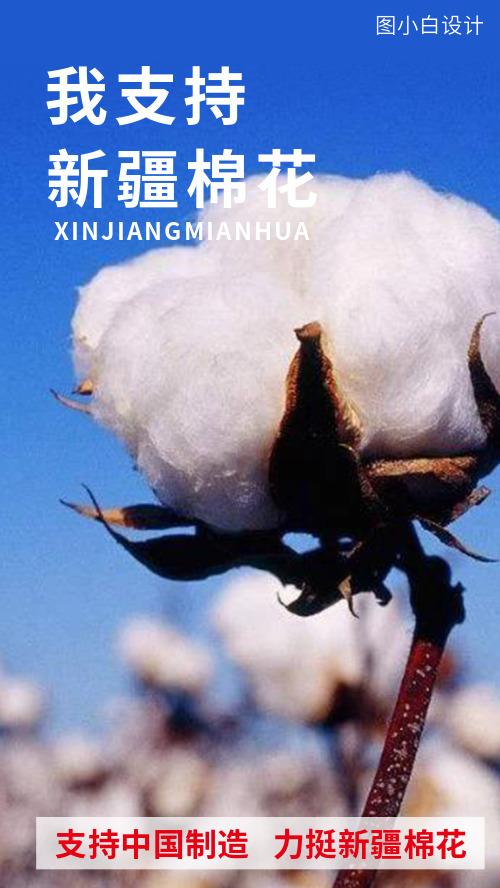 支持新疆棉花