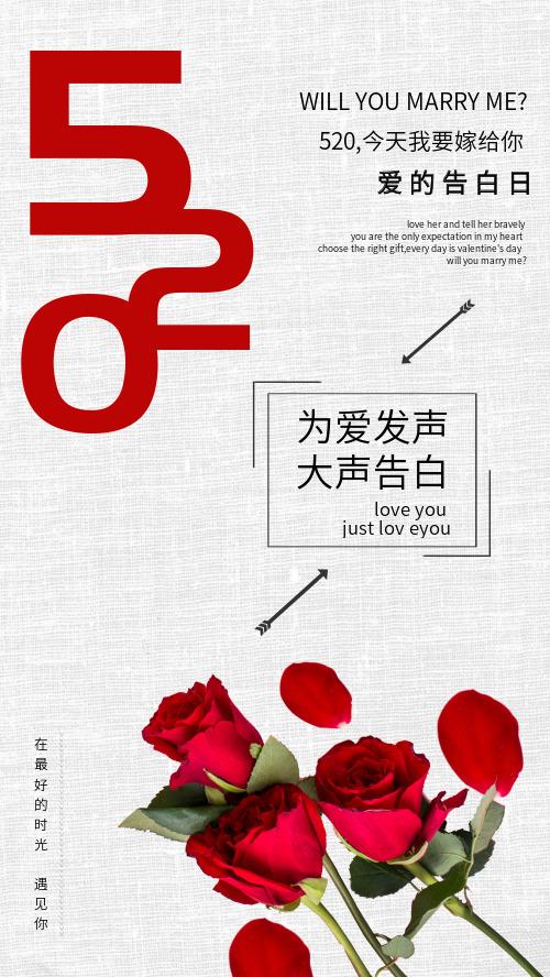 浪漫520情人节女神节玫瑰DF