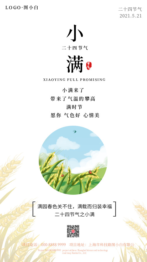 中国传统节气小满 CY